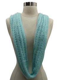Lacey Knit Infinity Scarf