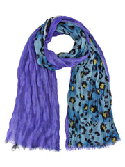 Wild Exotic Animal Print Summer Scarf