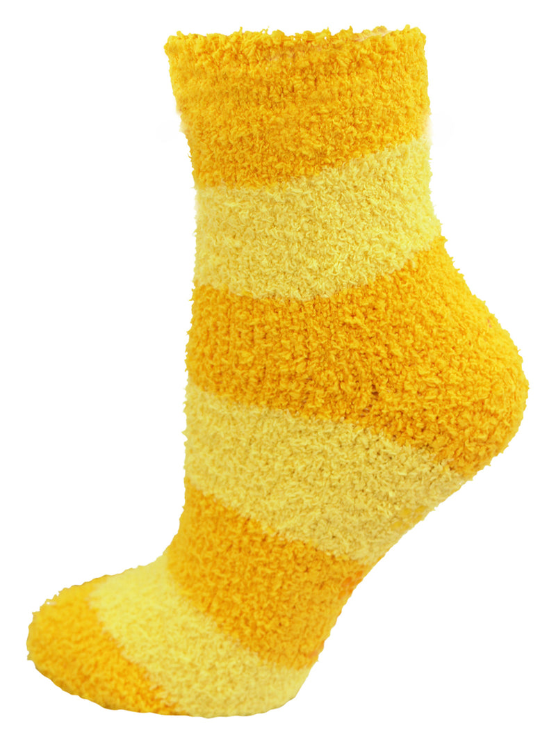 Multicolor Thick Striped 6 Pack Fuzzy Socks