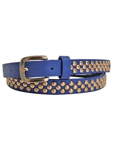 Skinny Gold Studded Belt