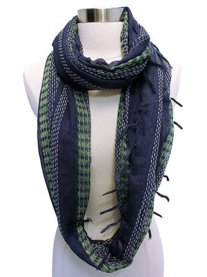 Gauze Weave Light Infinity Scarf