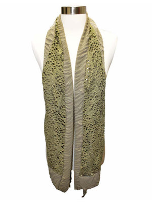 Unique Textured Oblong Scarf