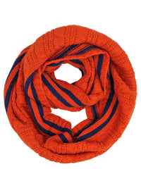 Preppy Cable Knit Infinity Scarf