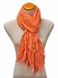 Crinkled Texture Summer Scarf