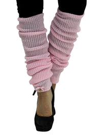 Long Thick Knit Dance Leg Warmers
