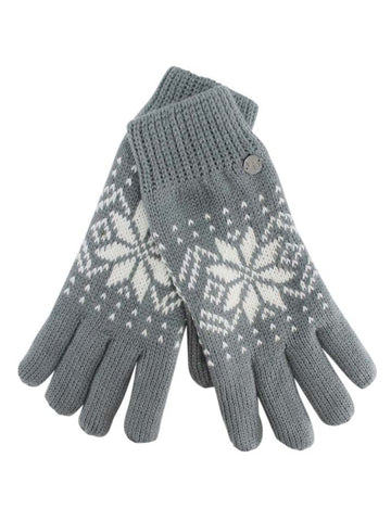 Thermal Insulated Mens Winter Print Gloves