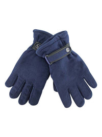Polar Fleece Mens Thermal Insulated Gloves