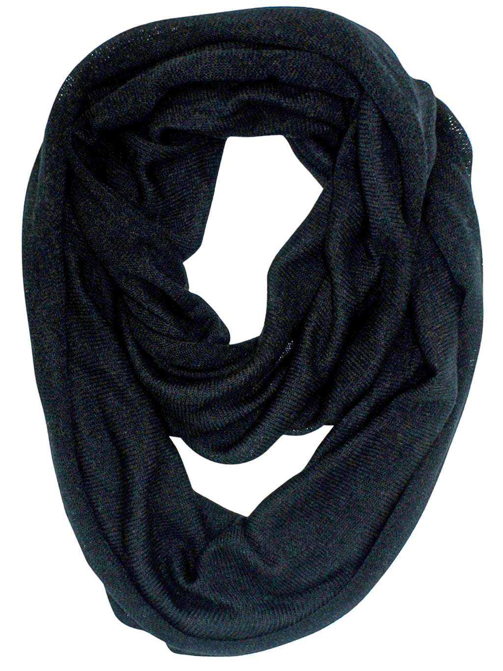 c6e2a39387bb7 Classic Knit Winter Unisex Infinity Scarf