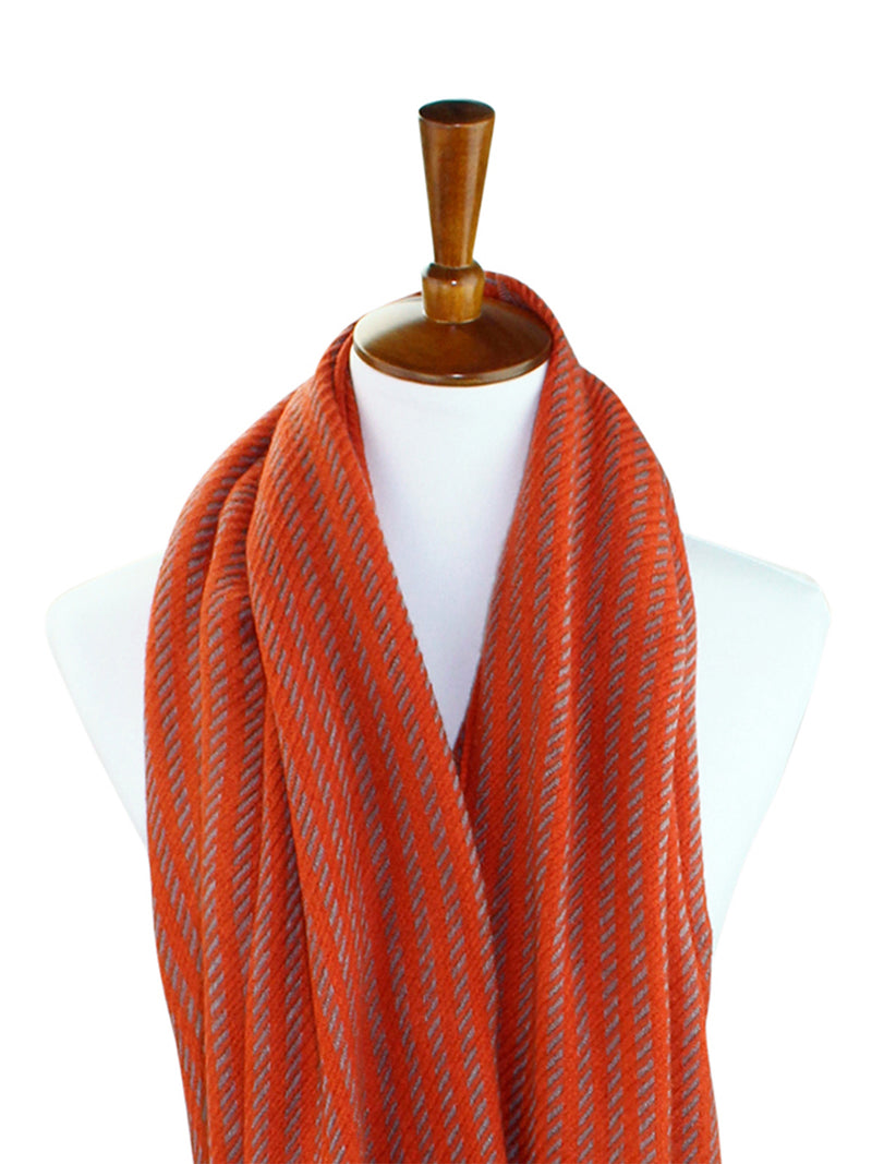 Soft Weave Twill Unisex Winter Infinity Scarf