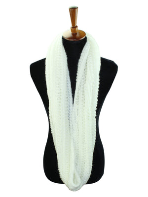 Winter Knit Soft Circle Infinity Scarf