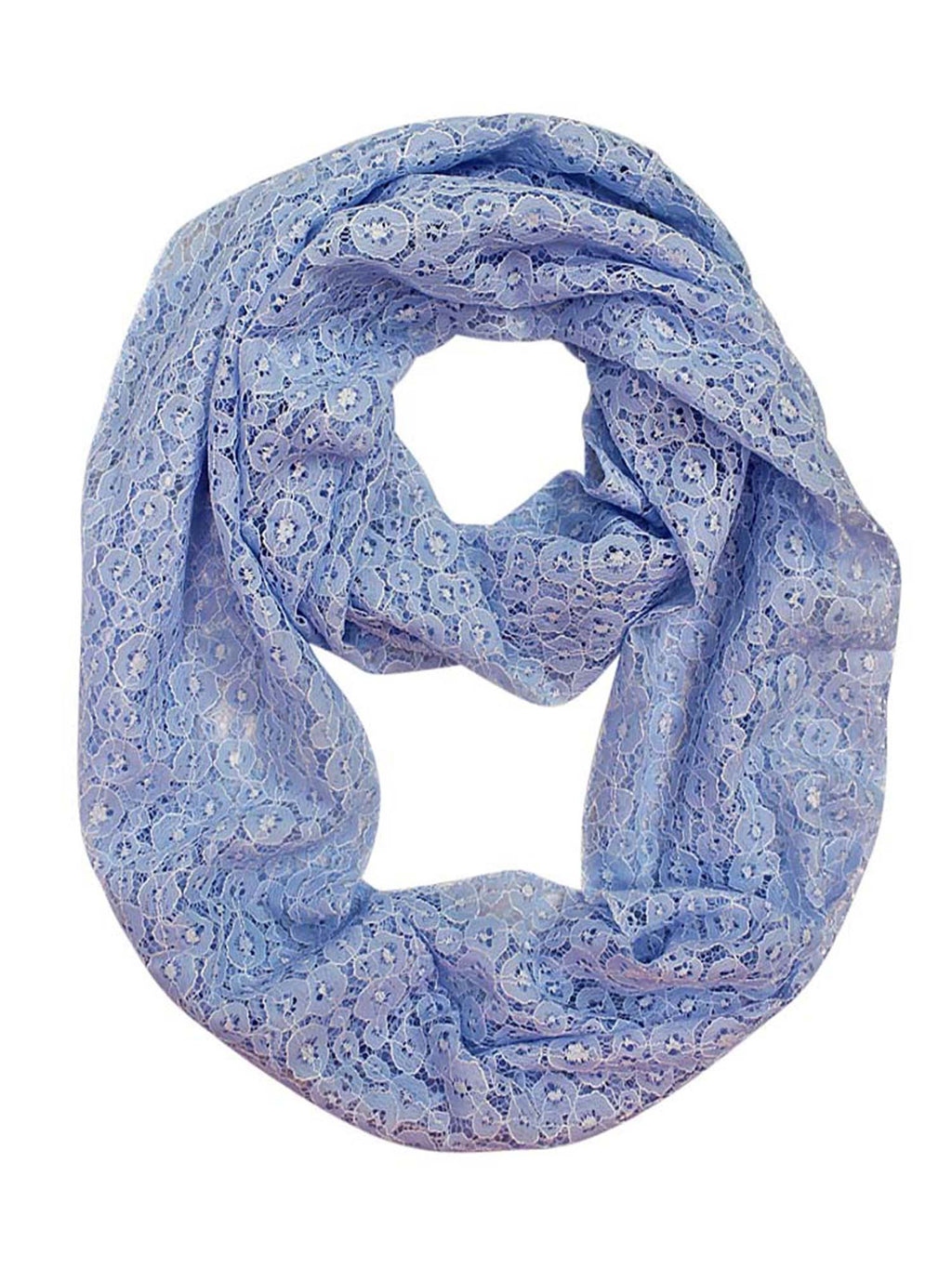 All Lace Lightweight Circle Summer Scarf