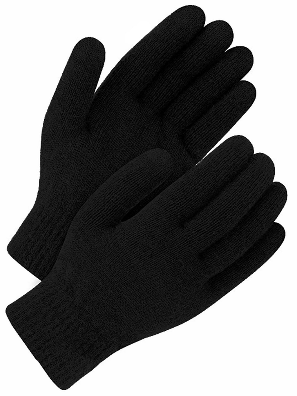 Mens Black Ultra Thermal Insulated Winter Heated Gloves