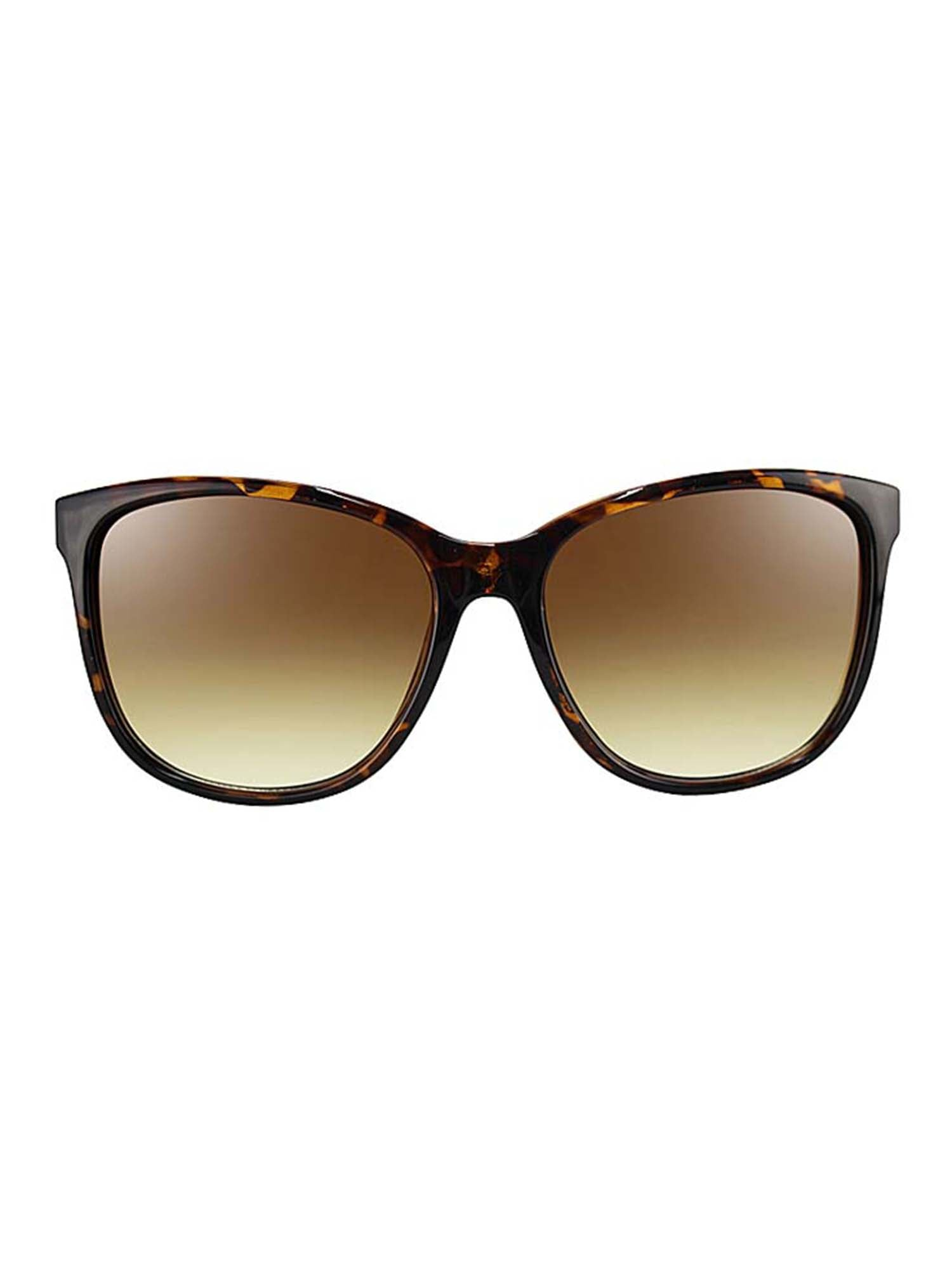 Textured Metal Accent Sunglasses With Hard Case