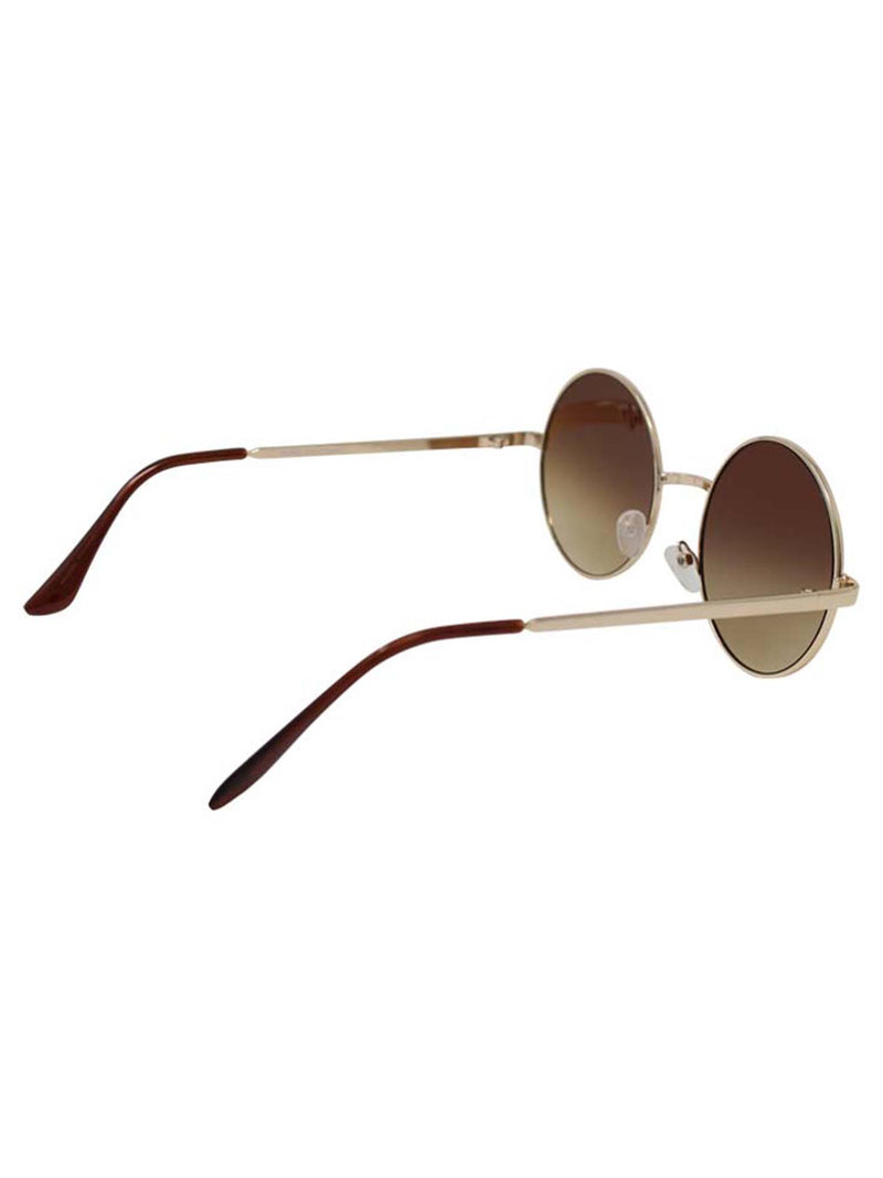 Lens Round Sunglasses With Case