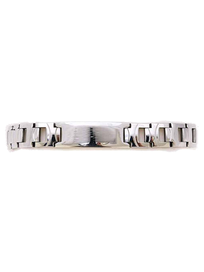 Stainless Steel Men's Boxed Id Style Bracelet