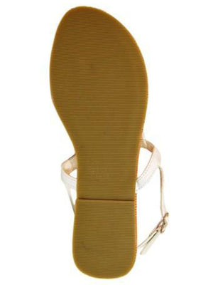 Patent Leather Sling Back Womens Sandals