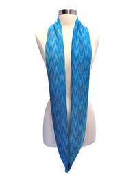 Colorful Light Zigzag Ring Infinity Scarf