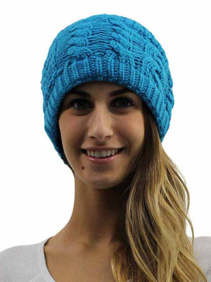 Winter Cable Knit Wide Headband