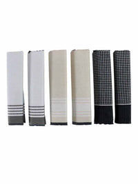Men's Boxed 6 Piece Cotton Handkerchiefs Set
