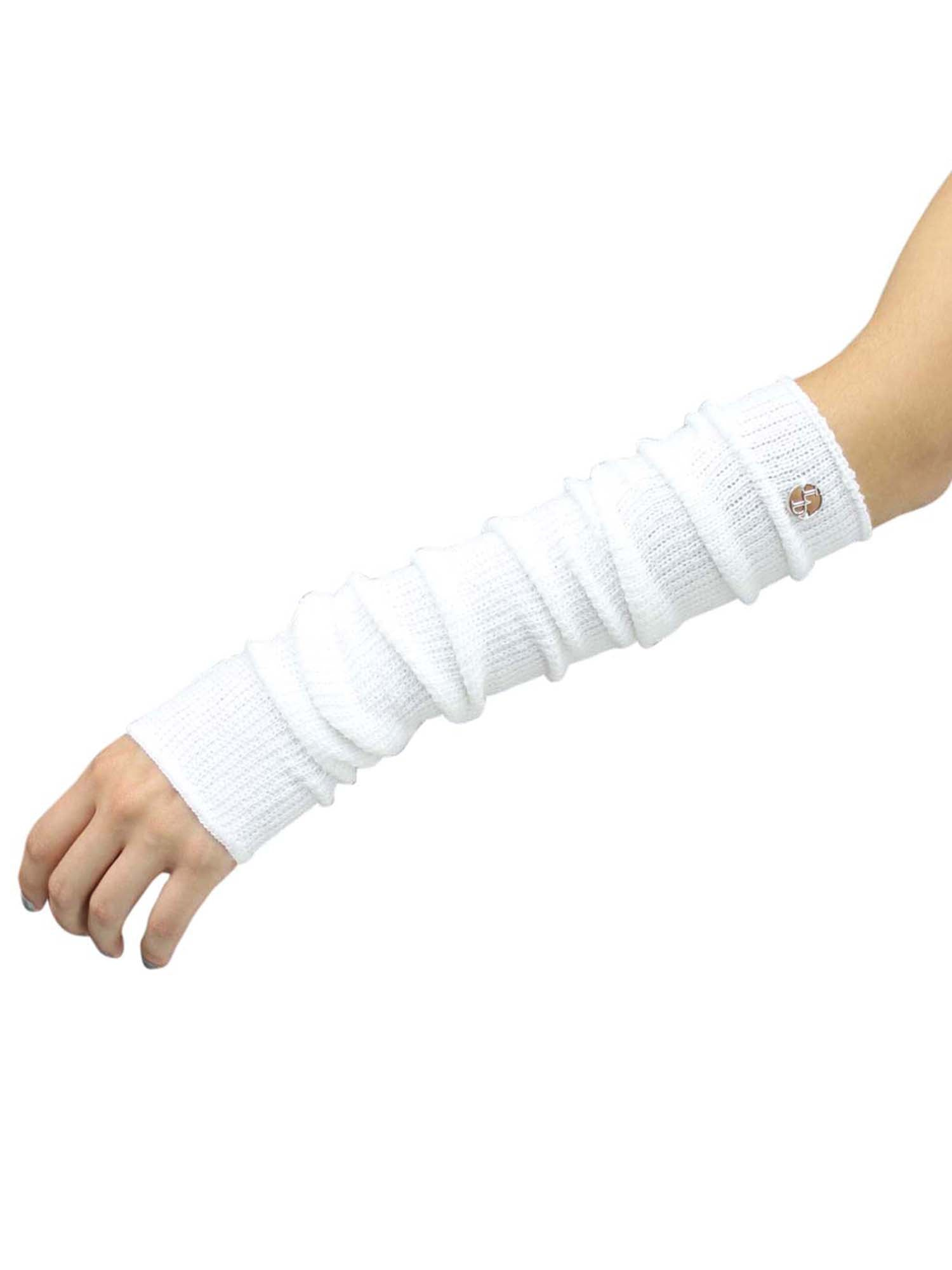 Long Arm Warmers With Thumb Hole