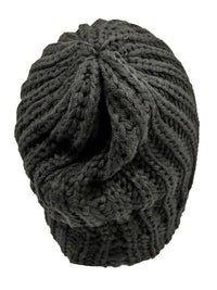 Thick Chunky Knit Tight Beanie Hat
