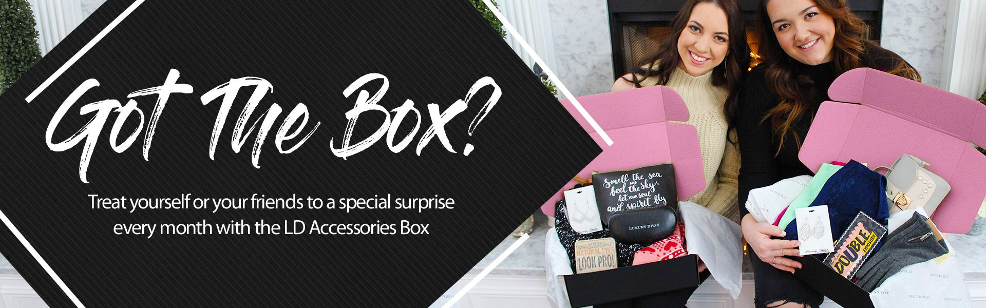 Give the best gift ever this holiday season by gifting a monthly subscription to the LD Fashion Accessories Box - Get 3 Months for $75