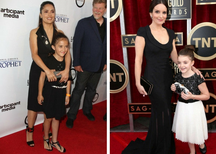 Celebrities Matching With Daughters