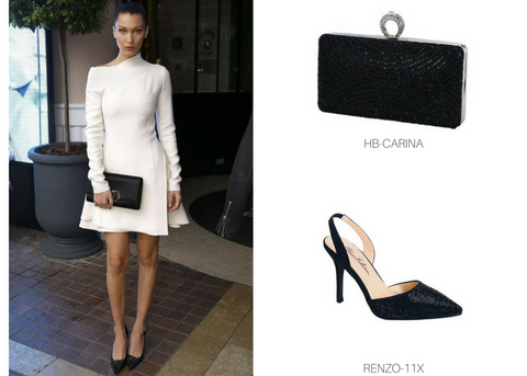 Evening Clutch and Heels