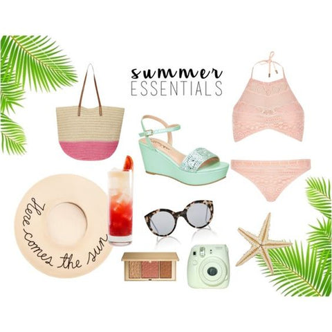 palm springs summer wedges