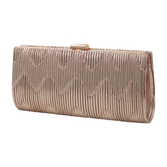 HB-136A Women's Evening Bag - Rose Gold