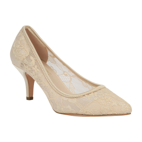 3006a48b2bfd HURLEY-15 Women s Lace Pointed Toe Heel- ...