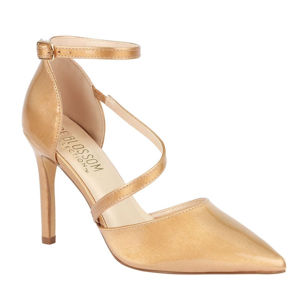 Josie-11 Nude Pointed Toe Pump