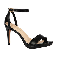 ROSIE-18 Strappy Evening High Heel- Black