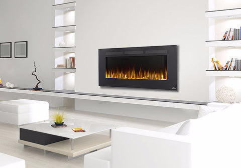 Napoleon Allure 50 NEFL50FH Wall Hanging or Recessed Electric Fireplace - Colorado Fireplace Supply