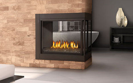 "Napoleon Ascent BHD4 Direct Vent 45"" Multi-View Electronic Ignition Fireplace - Colorado Fireplace Supply"