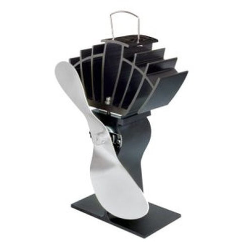 UltraAir Ecofan Stovetop Fan with Nickel Blade - Colorado Fireplace Supply