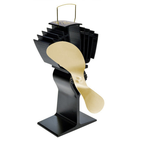 AirMax Ecofan Stovetop Fan with Gold Blade - Colorado Fireplace Supply