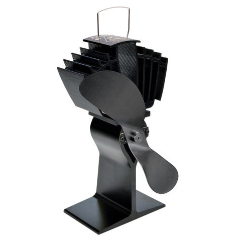 AirMax Ecofan Stovetop Fan with Black Blade - Colorado Fireplace Supply