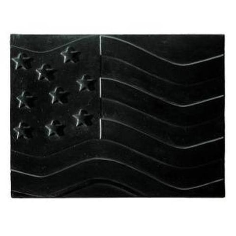 "American Flag Cast Iron Heat Reflective 24"" Fireplace Fireback - Colorado Fireplace Supply"
