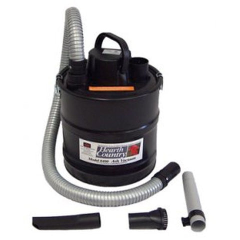 Hearth Country Fireplace Ash Vacuum with Pellet Accessory Kit