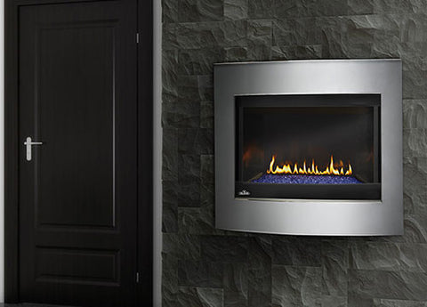 "Napoleon Crystallo BGD36 Direct Vent 40"" Electronic Ignition Fireplace - Colorado Fireplace Supply"