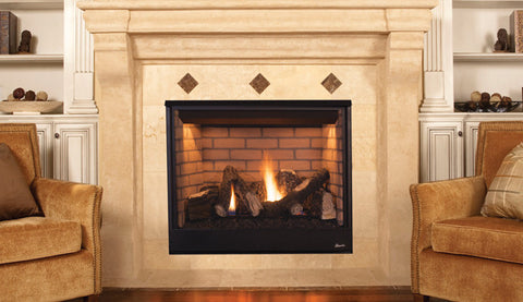 "Superior DRT3535 Pro Series Direct Vent 35"" Electronic Ignition Fireplace - Colorado Fireplace Supply"