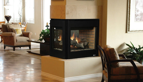 "Superior DRT35PF Multi-View 35"" Millivolt Fireplace - Colorado Fireplace Supply"