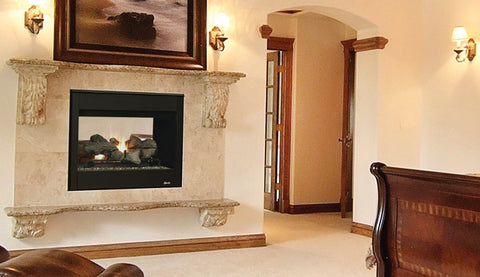 "Superior DRT40ST See-Through 40"" Millivolt Fireplace - Colorado Fireplace Supply"