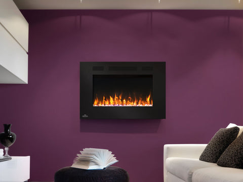 Napoleon Allure 32 NEFL32FH Wall Hanging or Recessed Electric Fireplace - Colorado Fireplace Supply