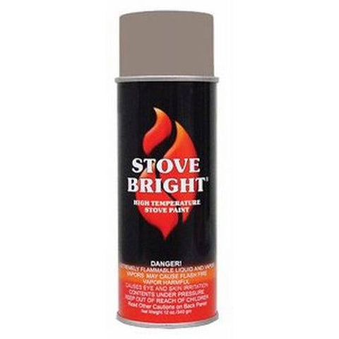 Stove Bright High Temperature Pewter Spray Paint - Colorado Fireplace Supply