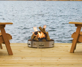 Napoleon Transportable Patioflame Gas Fire Pit with Logs - Colorado Fireplace Supply
