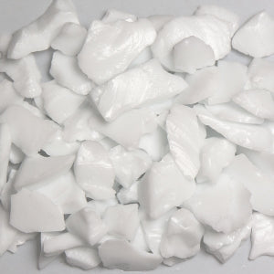 White Fire Glass 5lbs - Colorado Fireplace Supply