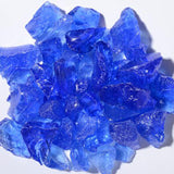 Indigo Blue Fire Glass 5lbs - Colorado Fireplace Supply