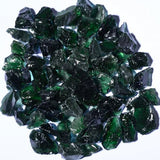 Dark Green Fire Glass 5lbs - Colorado Fireplace Supply
